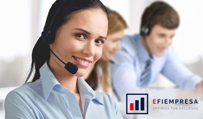 Contact Center para tener Clientes Satisfechos. Efiempresa