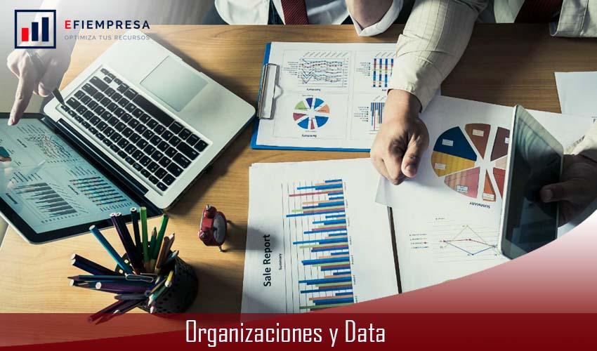 Organizaciones y Data, Innovar y Automatizar sus Sistemas. Efiempresa