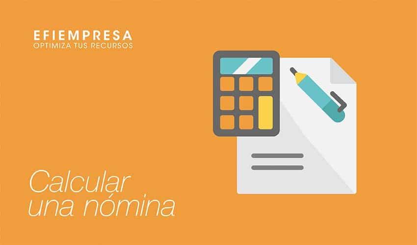 información necesaria para calcular una nómina en España.